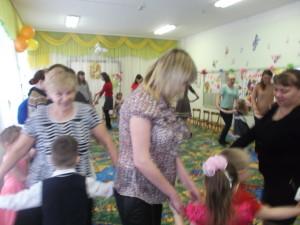 танец с мамам